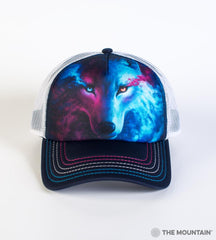4963 Where Light and Dark Meet Trucker Hat