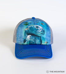 5903 Manatees Collage Trucker Hat