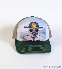 5952 Kitten Trooper Trucker Hat