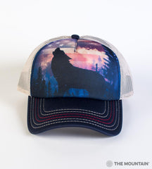 5971 Patriotic Howl Trucker Hat