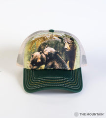 5980 Black Bear Family Trucker Hat