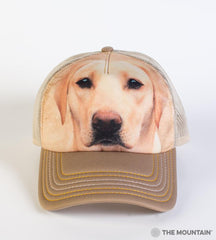 8146 Yellow Lab Portrait Trucker Hat