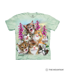 4988 Kittens Selfie Toddler T-Shirt