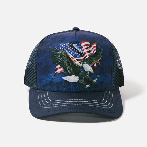 1001 Eagle Talon Flag Trucker Hat