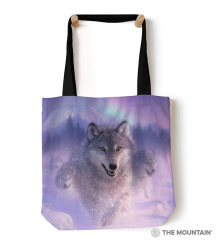 "9748812 Northern Lights 18"" Tote Bag"