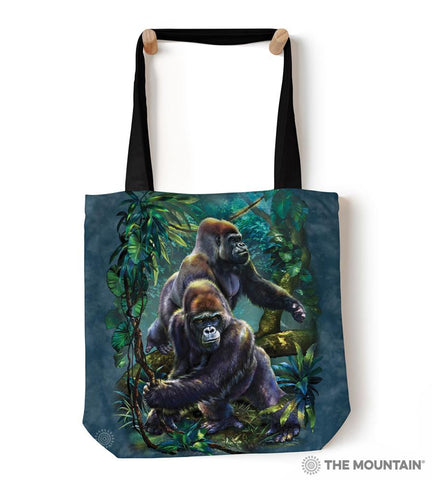 "9759122 Gorilla Jungle 18"" Tote Bag"