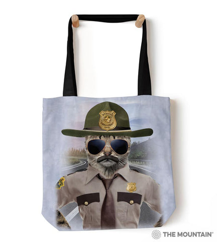 "9759522 Kitten Trooper 18"" Tote Bag"