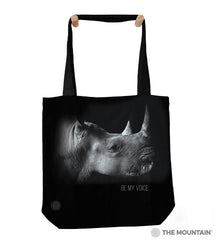 "9759772 Be My Voice 18"" Tote Bag"