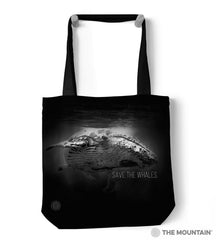 "9759812 Save The Whales 18"" Tote Bag"