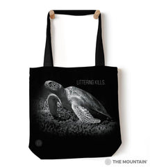 "9759822 Littering Kills 18"" Tote Bag"