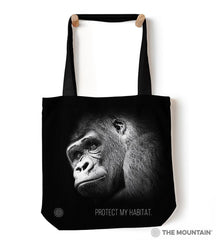 "9760892 Protect My Habitat 18"" Tote Bag"