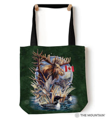"9761212 Canada Loon 18"" Tote Bag"