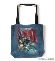 "9785692 Canada The Beautiful 18"" Tote Bag"