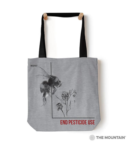 "55762 Pesticide Bumble Bee 18"" Tote Bag"