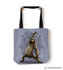 "6288 Warrior Sloth 18"" Tote Bag"