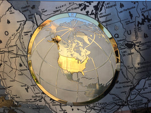 Metal map, metal map of the world, planispheres, wall map, wood map, stone, map