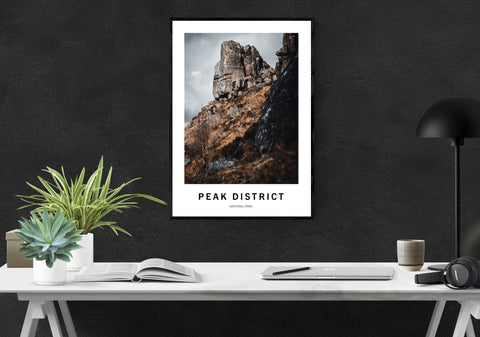 Peak District | End of the Affair | Climbing Places | A3 Climbing Print