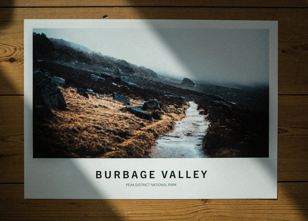 Burbage Valley | Climbing Places | A3 Climbing Print