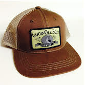 Back Country Brown GOB Trucker Hat
