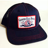 Mid Ship Navy GOB Trucker Hat