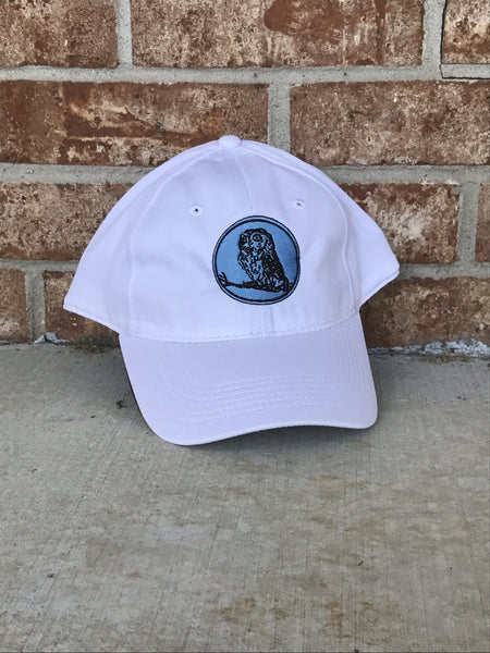 White Performance Owl Hat