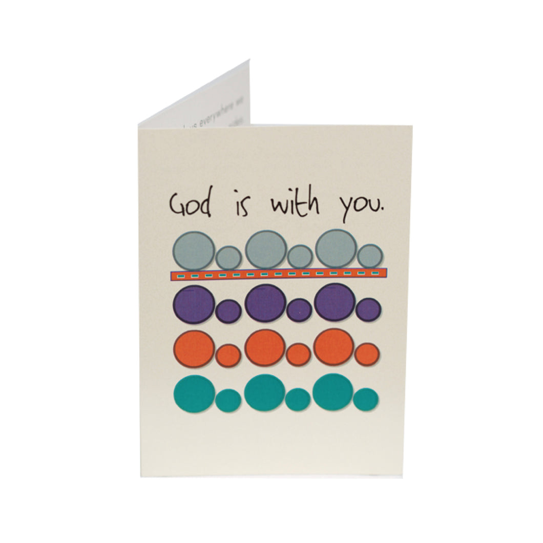 God is With You Kid Card