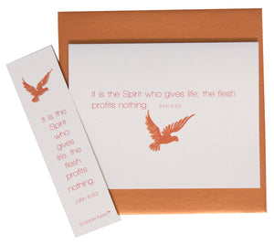 The Spirit Gives Life Note Card