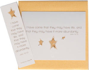 I Have Come Note Card