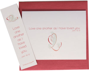 Love One Another Note Card