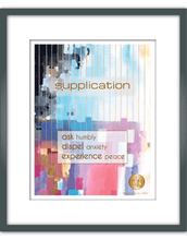 "Load image into Gallery viewer, ""Supplication"" Watercolor Print"