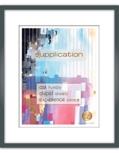 """Supplication"" Watercolor Print"