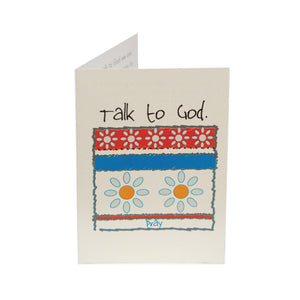 Talk to God Kid Card