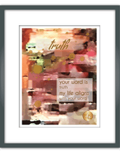 "Load image into Gallery viewer, ""Truth"" Watercolor Print"