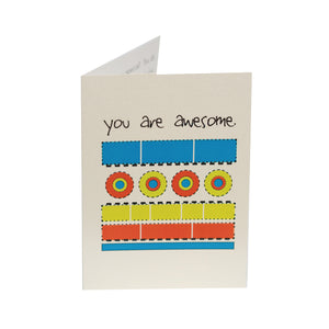 You Are Awesome Kid Card
