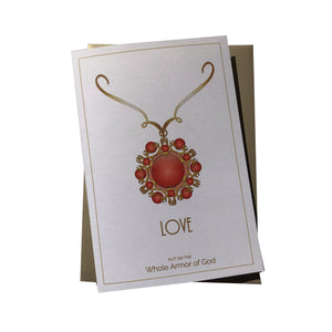 Love Greeting Card [Whole Armor of God]