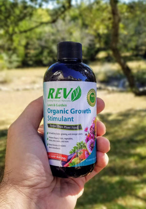 Organic REV 8 Ounce Bottle - Organic Rev Growth Stimulant