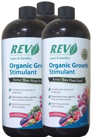 Organic REV 32oz 3-Pack - Organic Rev Growth Stimulant