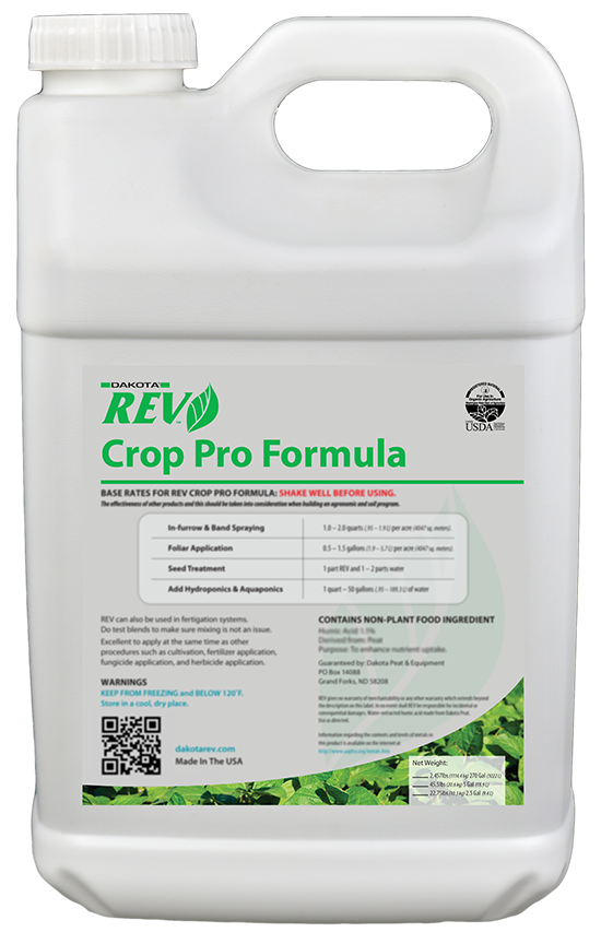 Organic REV Crop Pro. 5 Gallon Case pack - Organic Rev Growth Stimulant