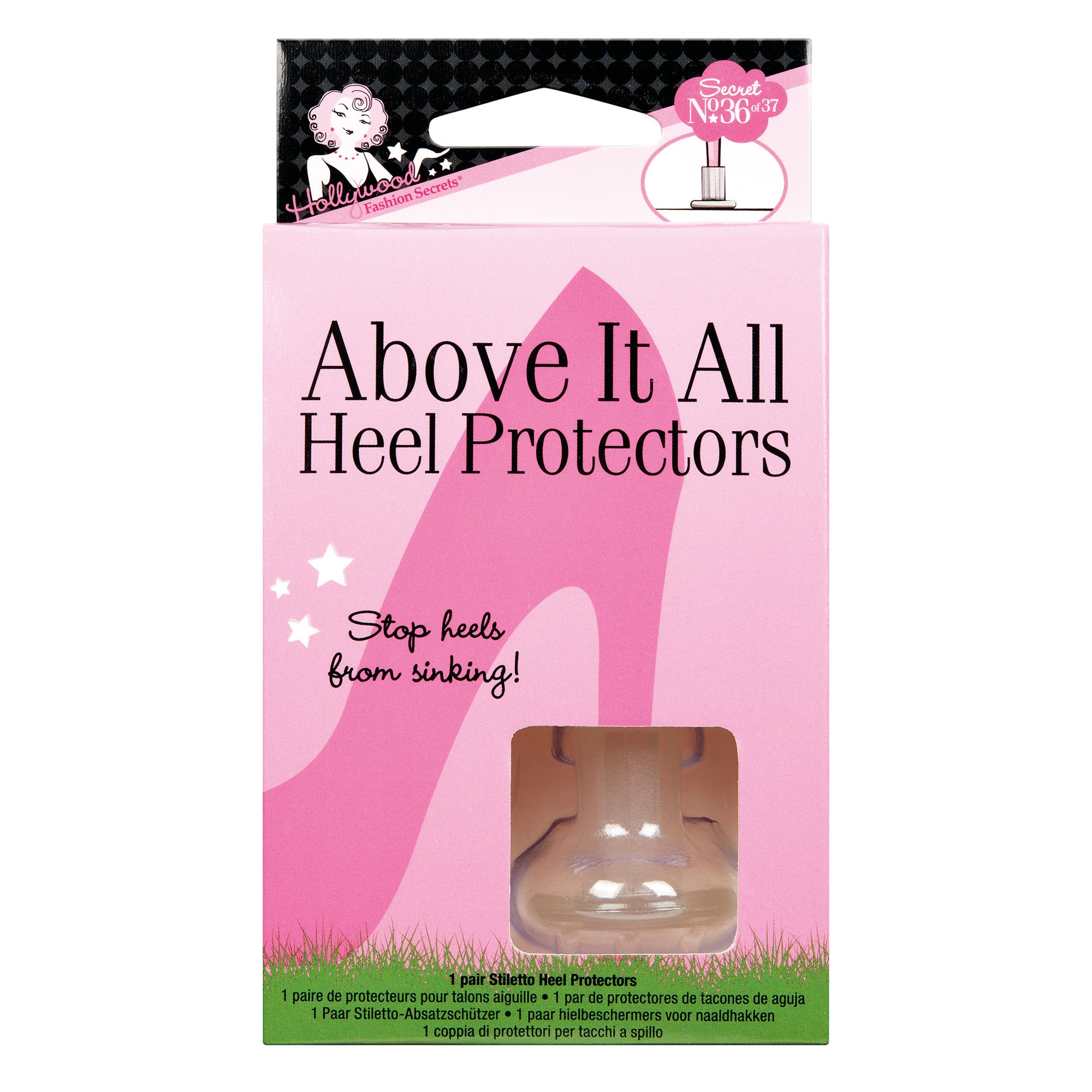 Hollywood Fashion Secrets - Above It All Heel Protectors