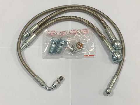 1JZ/2JZ braided turbo lines kit