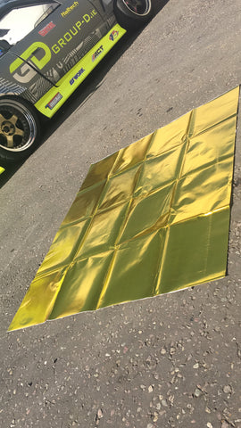 Gold Heat Reflective Adhesive Sheet