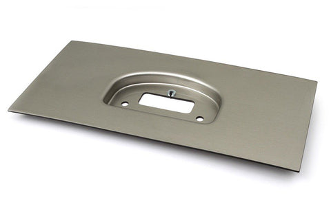 IQ3 Dash Moulded Panel Mount Brushed Silver