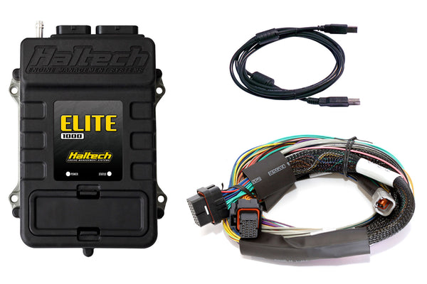 Elite 1000 + Basic Universal Wire-in Harness Kit LENGTH: 2.5m (8') - Group-D