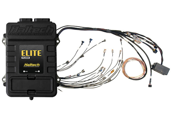 Elite 1500 with Race Functions + Mitsubishi 4G63 1G CAS CDI Terminated Harness Kit - Group-D