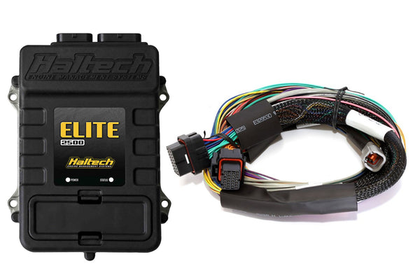 Elite 2500 + Basic Universal Wire-in Harness Kit LENGTH: 2.5m (8') - Group-D