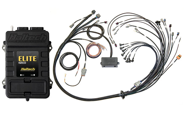 Elite 2500 + Ford Coyote 5.0 Early Cam Solenoid Terminated Harness Kit INJECTOR CONNECTOR: Bosch EV1 - Group-D