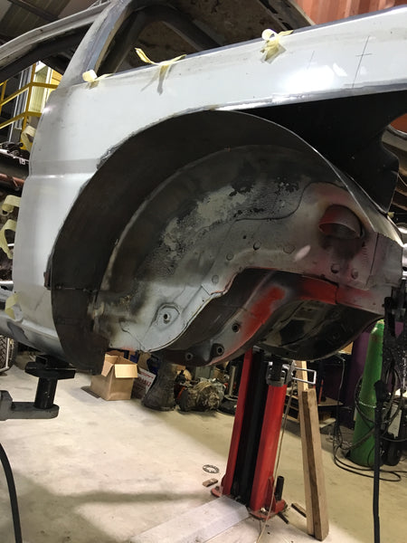 Wheel Arch Fillers - Group-D