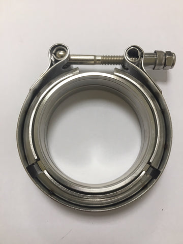 V Band clamp and flange set 3""