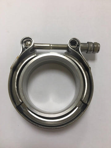 V-Band clamp and flange set 2.5""