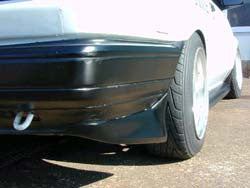 D-MAC FRP REAR SPATS (J-BLOOD STYLE)